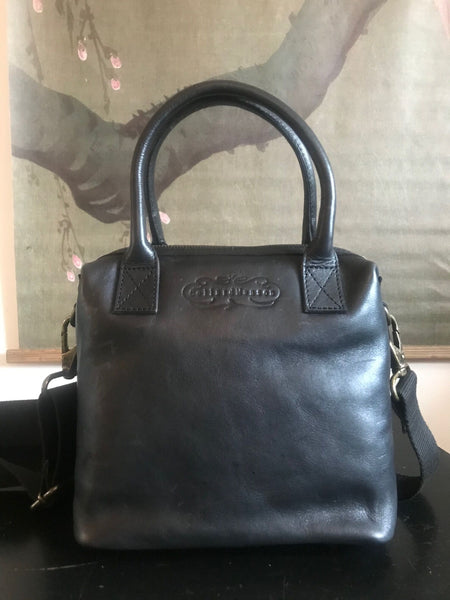 CollardManson Maya Bag- Black Leather