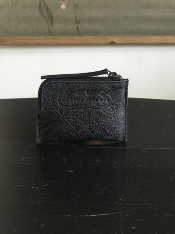 CollardManson Black Weathered Tool leather Wallet
