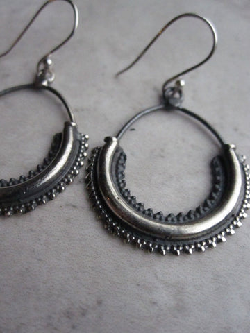 925 Silver Dali Earrings