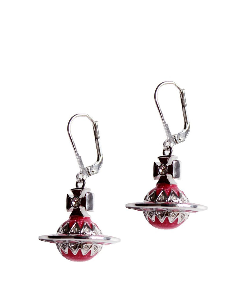 VIVIENNE WESTWOOD ARETHA ORB EARRINGS