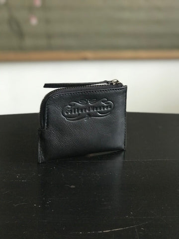 CollardManson Black Leather Wallet