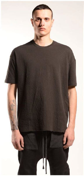 thom/krom AW19 MTS 447 Herren T-shirt - Brown