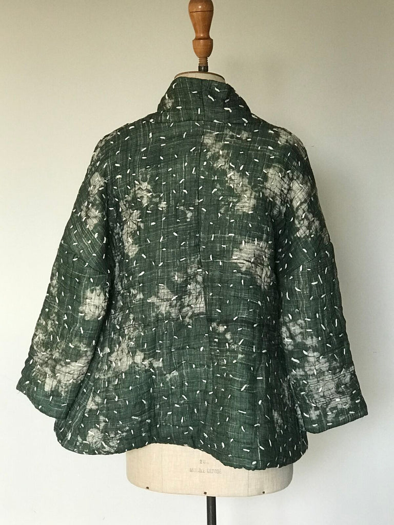 Yavi Raga Erma Jacket - Green/White