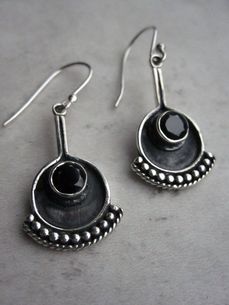 925 Silver Egon Earrings