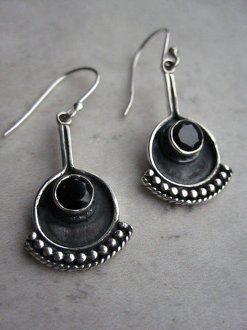 Copy of 925 Silver Egon Earrings