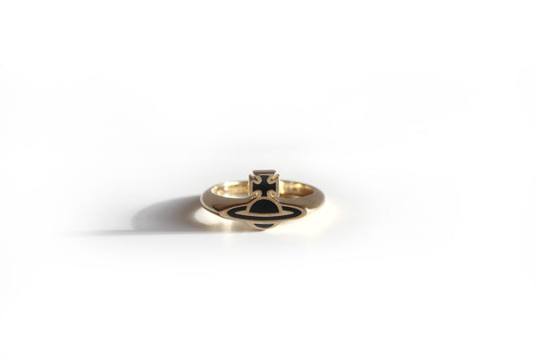 Vivienne Westwood Romina Orb Ring- Gold
