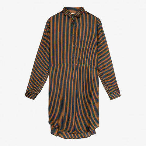 Mes Demoiselles AW20  Shirt - Green Stripe - Sangrita