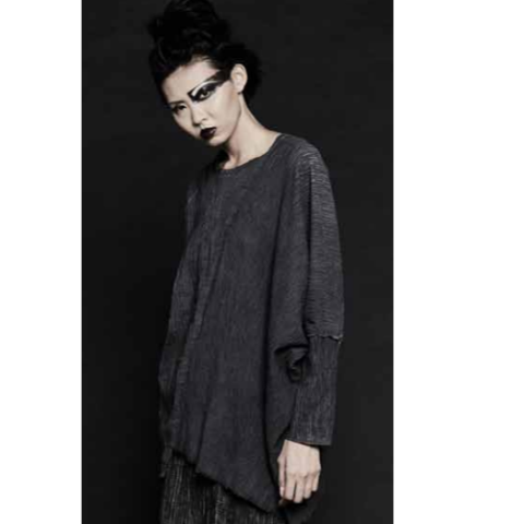 un-namable Patch Sweater - graphite