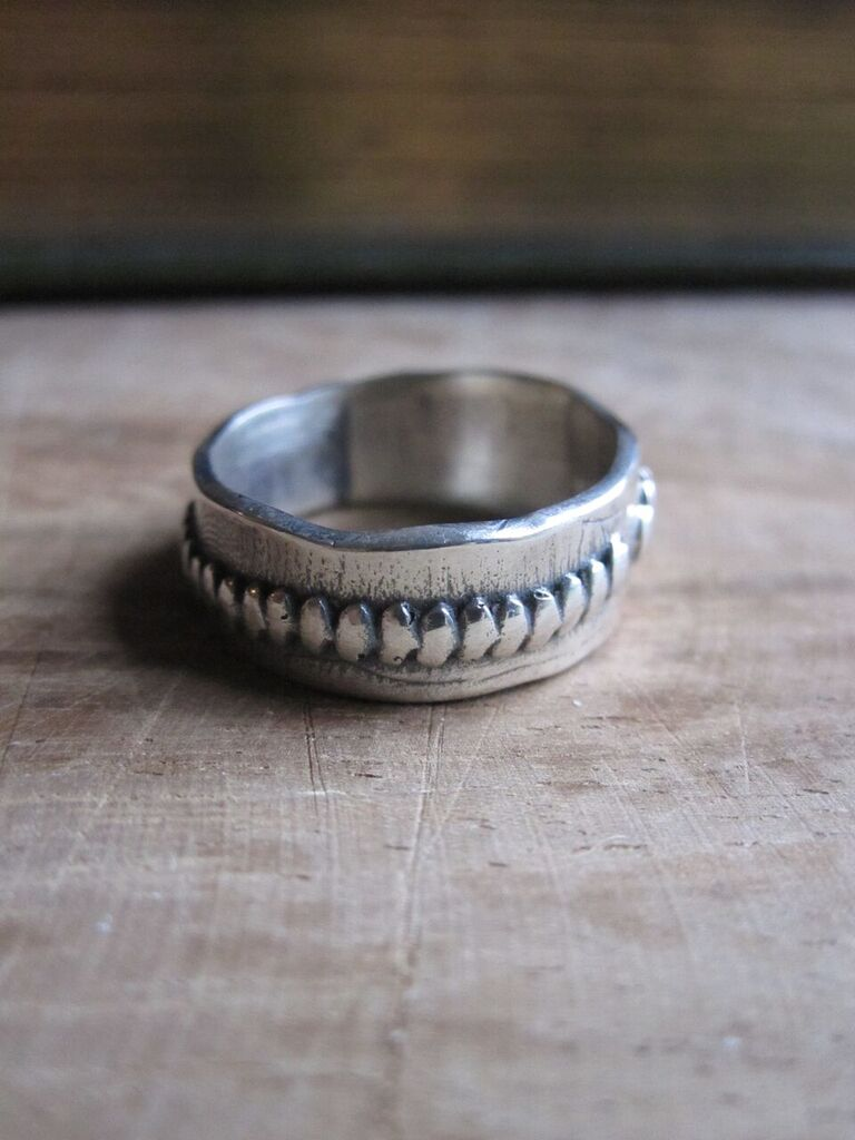 925 Silver Jaggered Ring