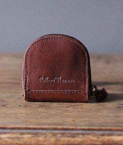 CollardManson Coin Purse- Brown