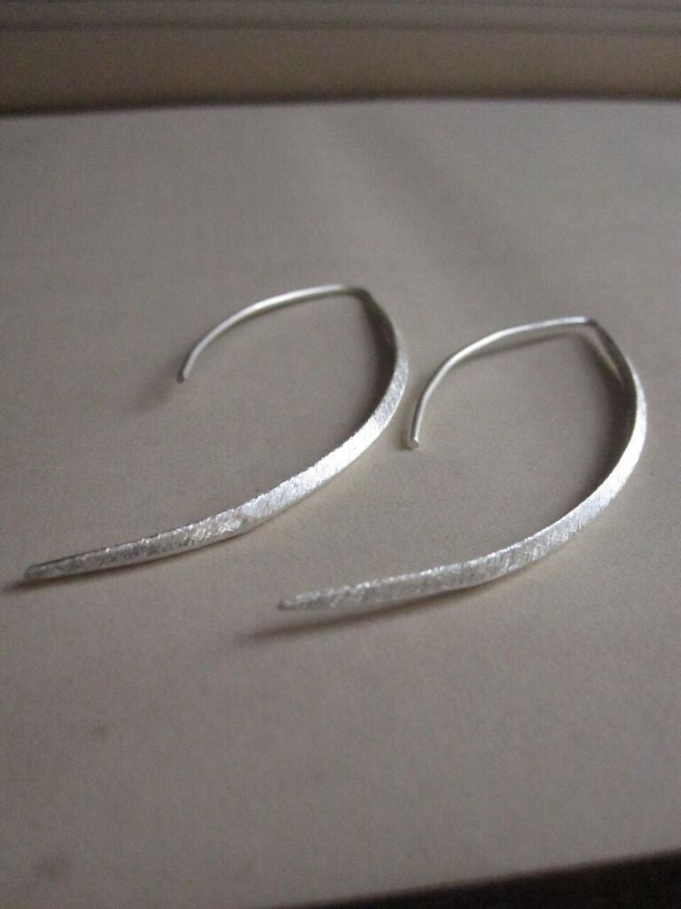 CollardManson Curved Drop Earrings