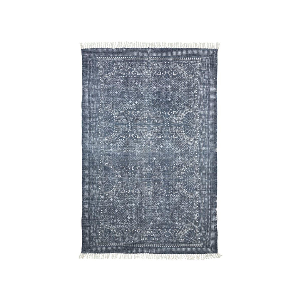 RUG, IZA, BLUE GREY/WHITE