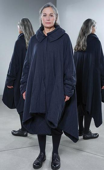 Rundholz AW18 1221201 Dark Blue Coat