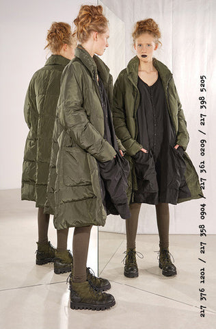 Rundholz AW17 3761201 Coat- Green