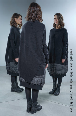 Rundholz AW18 3497002 Knitted Tunic Black