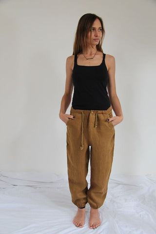 CollardManson Linen Trousers