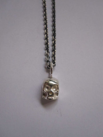 925 Silver Skull Necklace