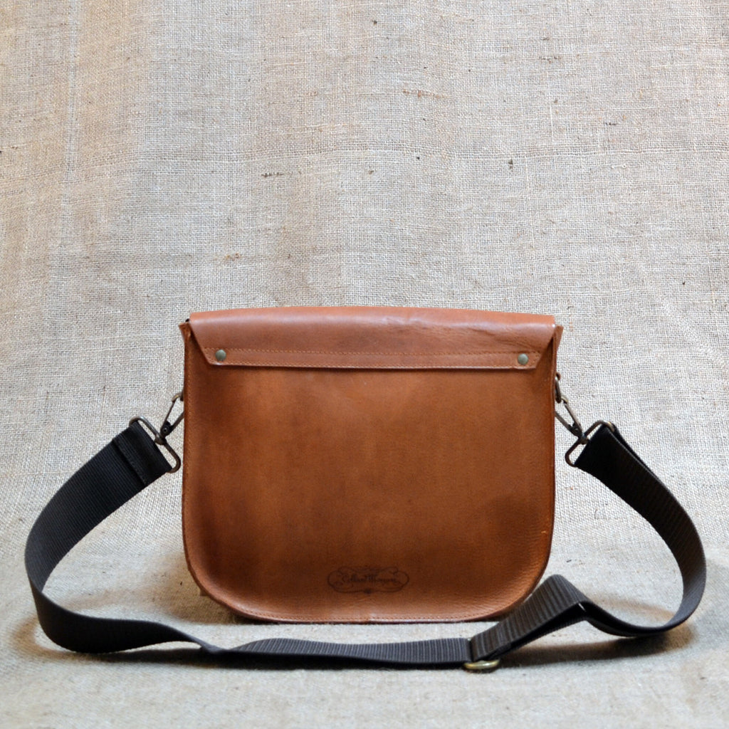 CollardManson Saddle Satchel Bag