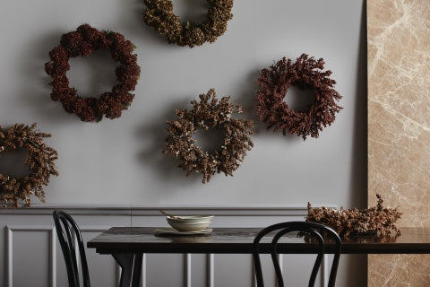 KORPO wreath, brown