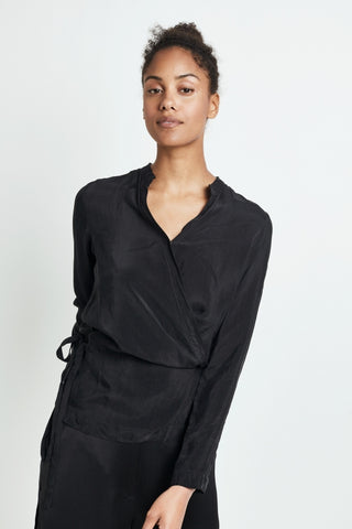 AW18 Humanoid Pix Blouse Blackish