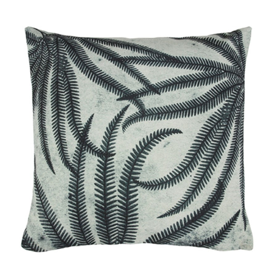 printed ferns cushion (45x45)