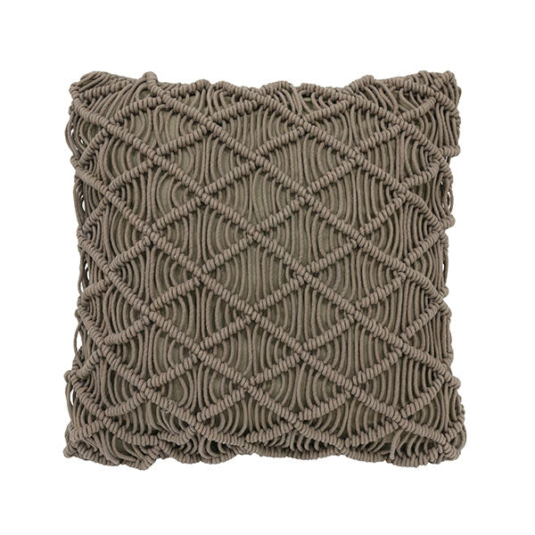Macramé Cushion