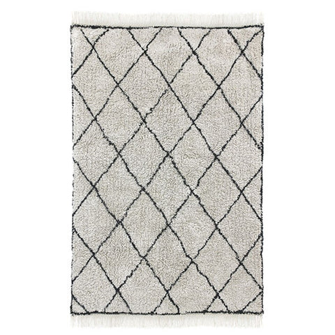 Cotton Diamond Rug