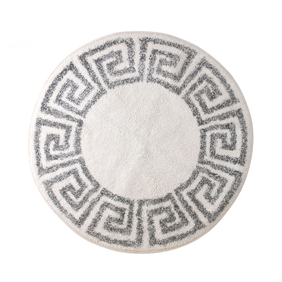 round key bath mat 120cm bath rug