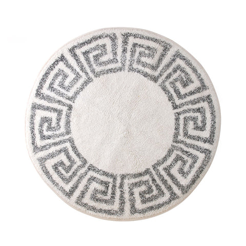 round key bath mat 80cm bath rug