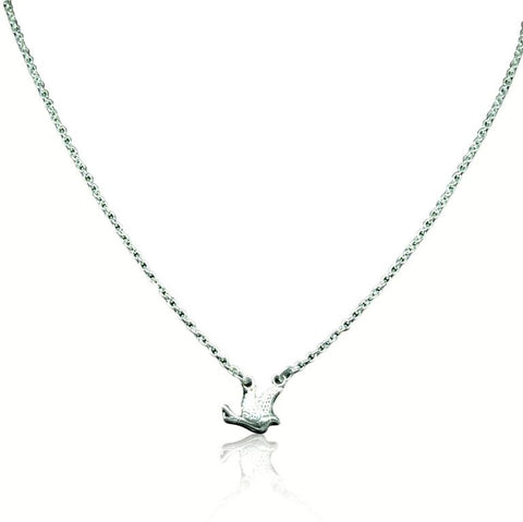 CollardManson 925 silver Little Bird Necklace