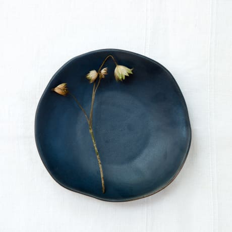 Riviera Side Plate - midnight blue