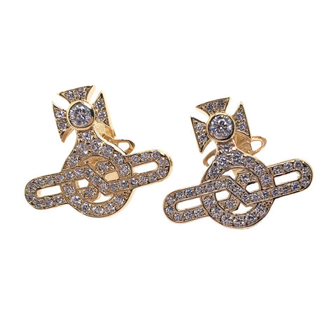 Vivienne Westwood Infinity Earrings - Large