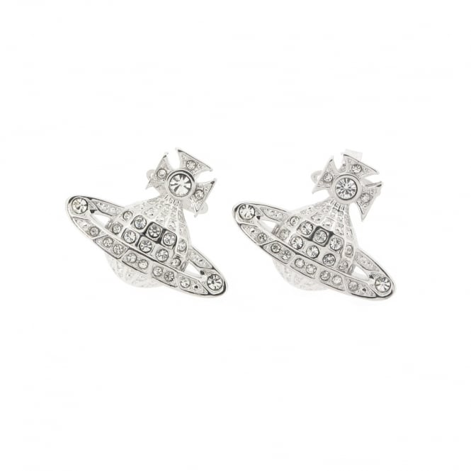 Vivienne Westwood Minnie Bas Relief Earrings - Crystal