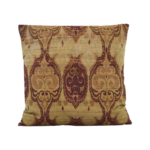 PILLOWCASE, THIA, GREEN/BROWN