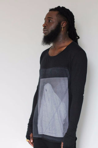 Window Dressing The Soul- Shroud Long Sleeve T-Shirt