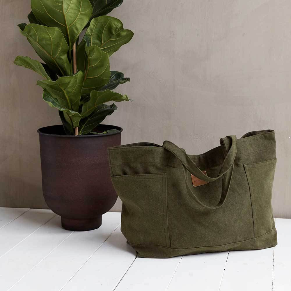 Weekend Bag-  Army Green