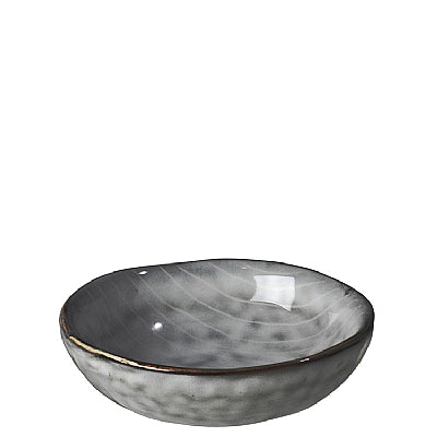 BUTTER BOWL 'NORDIC SEA' STONEWARE SEA