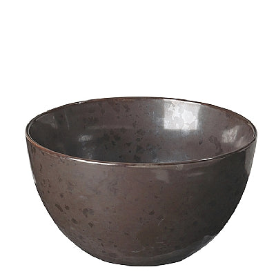 BOWL 'ESRUM NIGHT' STONEWARE GREY/BROWN