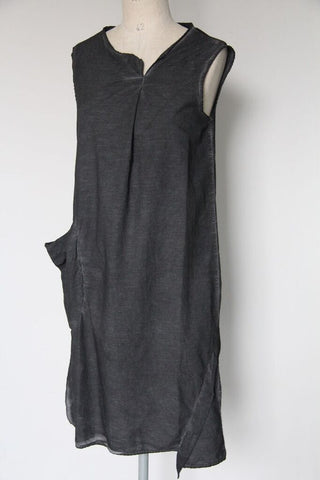 un-namable 1 Pocket Warren Dress- graphite