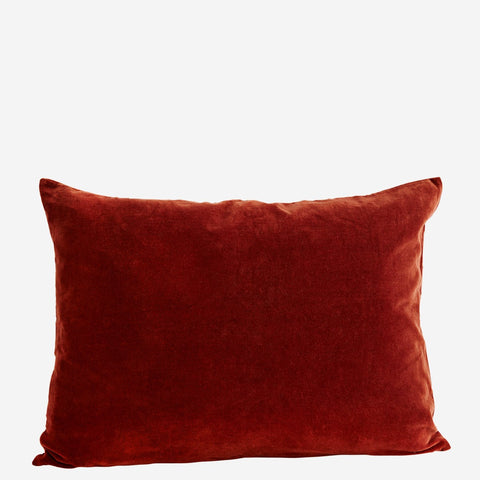 Large VELVET CUSHION COVER Tandori Spice