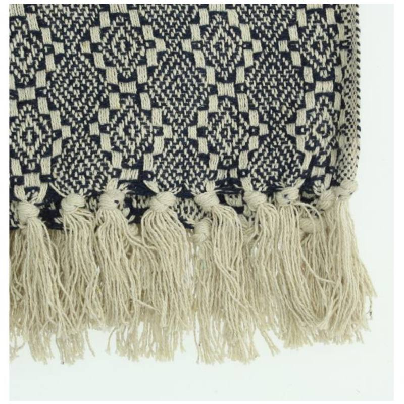 Isla Ibiza cotton throw