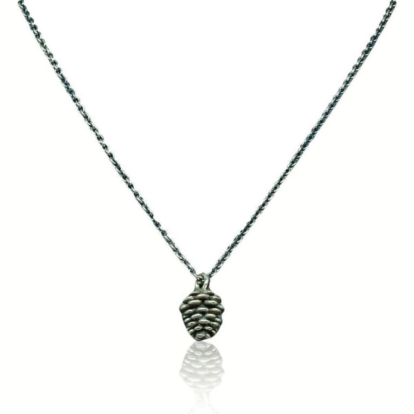 CollardManson 925 silver Pinecone Necklace