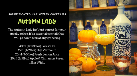 Autumn Lady Gin Cocktail