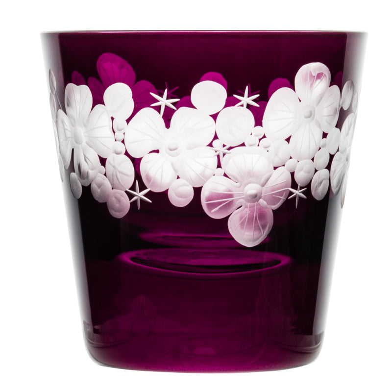 Tallulah Tipple Glass - Amethyst