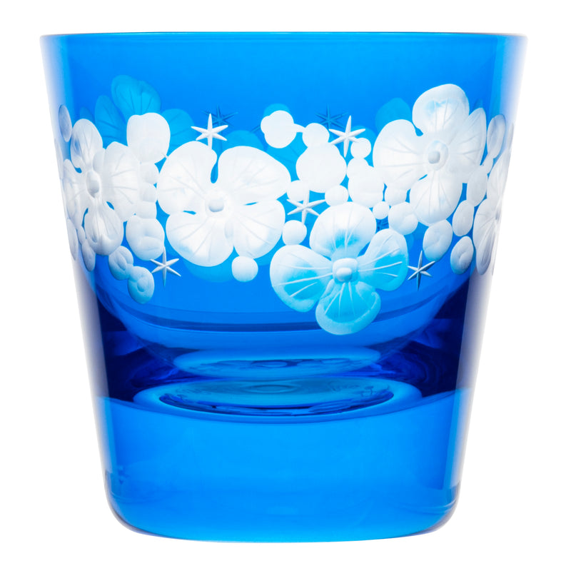 Tallulah Tipple Glass - Azure Blue