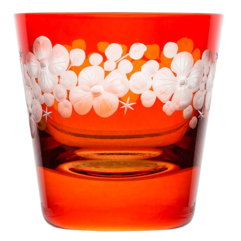 Tallulah Tipple Glass - Burnt Orange