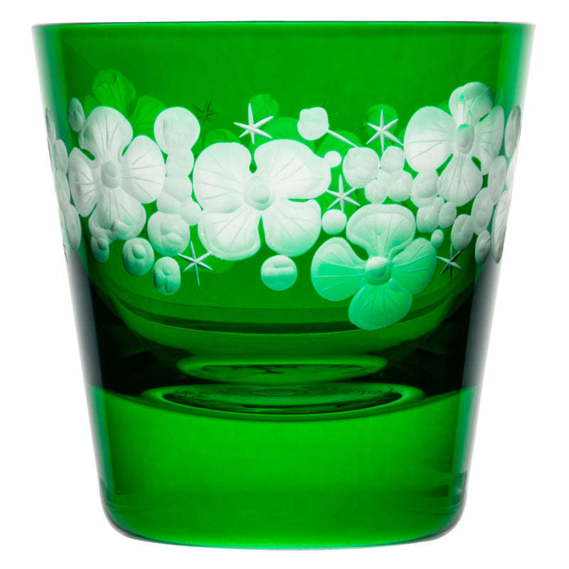Tallulah Tipple Glass - Emerald Green