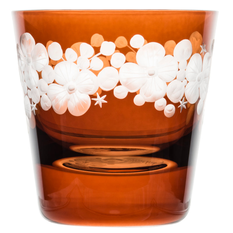 Tallulah Tipple Glass - Toffee Brown