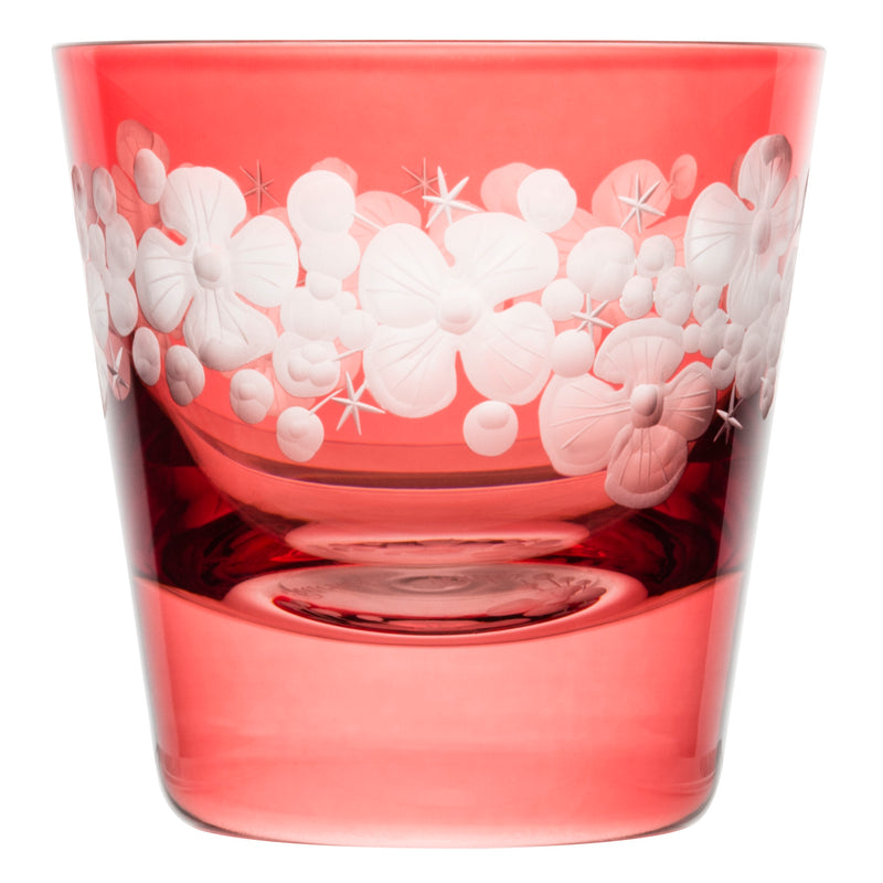 Tallulah Tipple Glass - Rose Pink