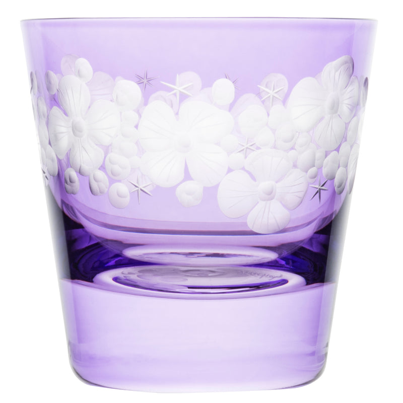 Tallulah Tipple Glass - Violet